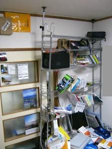 地震直後の自室3