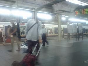 現在大阪駅
